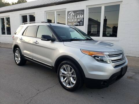 2015 Ford Explorer for sale at Kellam Premium Auto Sales & Detailing LLC in Loudon TN