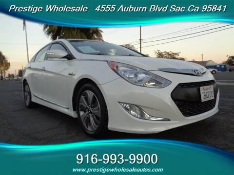2013 Hyundai Sonata Hybrid for sale at Prestige Wholesale in Sacramento CA