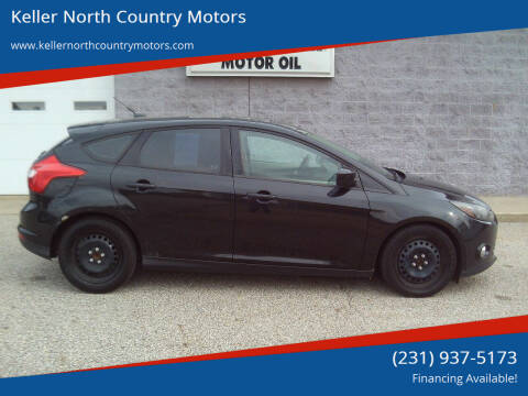 2012 Ford Focus for sale at Keller North Country Motors in Howard City MI