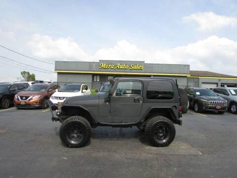 2006 Jeep Wrangler for sale at MIRA AUTO SALES in Cincinnati OH