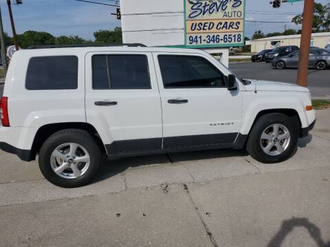 2014 Jeep Patriot for sale at Steve's Auto Sales in Sarasota FL