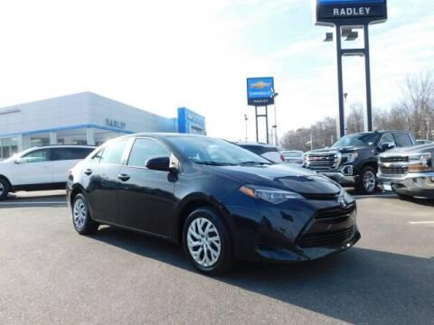 2019 Toyota Corolla for sale at Radley Cadillac in Fredericksburg VA