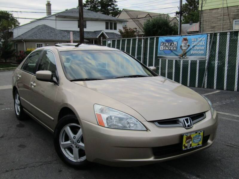 2005 Honda Accord for sale at The Auto Network in Lodi NJ