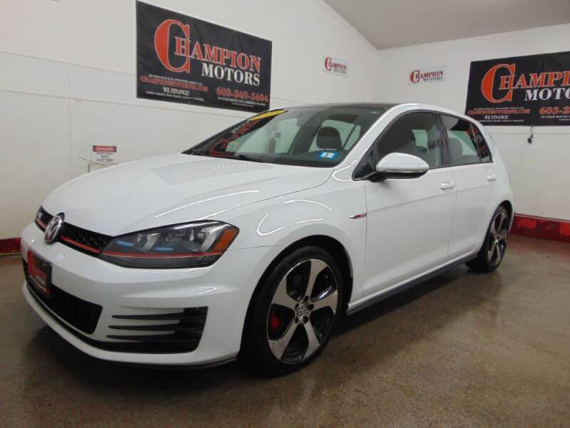 2015 Volkswagen Golf GTI for sale at Champion Motors in Amherst NH