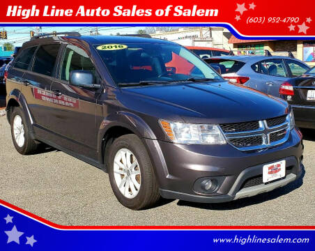 2016 Dodge Journey for sale at High Line Auto Sales of Salem in Salem NH