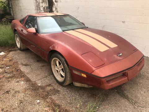 1988 Chevrolet Corvette for sale at Finish Line Motors in Tulsa OK