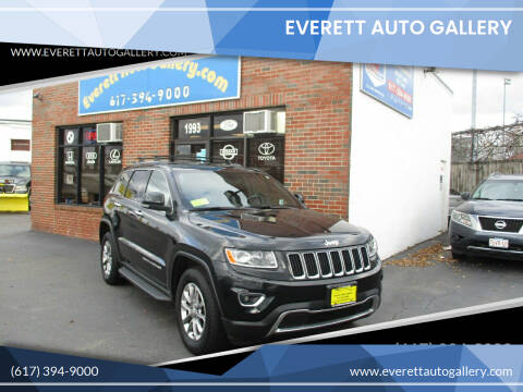 2014 Jeep Grand Cherokee for sale at Everett Auto Gallery in Everett MA