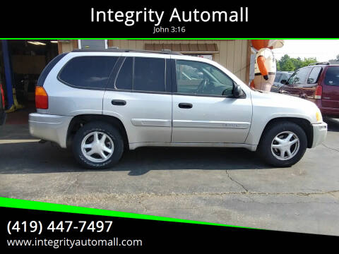 2004 GMC Envoy for sale at Integrity Automall in Tiffin OH