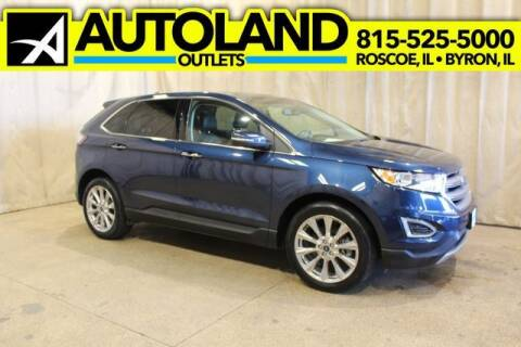 2017 Ford Edge for sale at AutoLand Outlets Inc in Roscoe IL