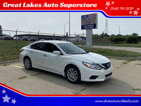 2017 Nissan Altima for sale at Great Lakes Auto Superstore in Waterford Township MI