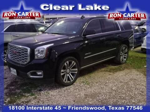 2018 GMC Yukon for sale at Ron Carter  Clear Lake Used Cars in Houston TX