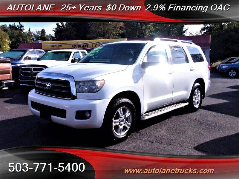 2008 Toyota Sequoia for sale at Auto Lane in Portland OR