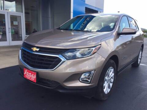 2019 Chevrolet Equinox for sale at Jones Chevrolet Buick Cadillac in Richland Center WI