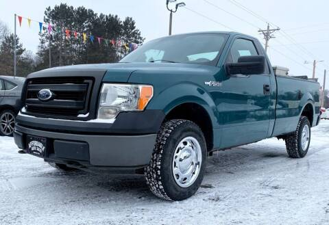 2014 Ford F-150 for sale at Affordable Auto Sales in Webster WI
