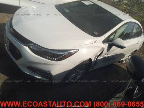 2018 Chevrolet Cruze for sale at East Coast Auto Source Inc. in Bedford VA