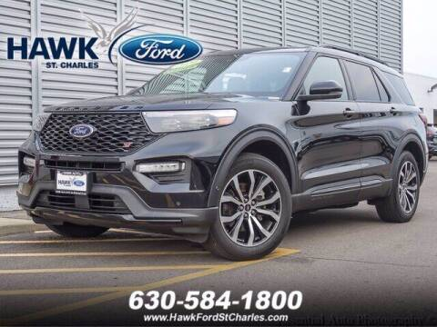 2020 Ford Explorer for sale at Hawk Ford of St. Charles in Saint Charles IL