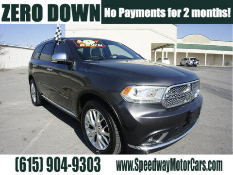 2015 Dodge Durango for sale at Speedway Motors in Murfreesboro TN