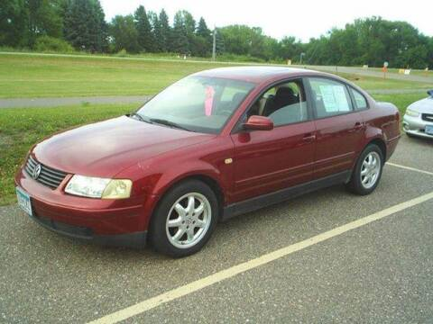 1999 Volkswagen Passat for sale at Dales Auto Sales in Hutchinson MN