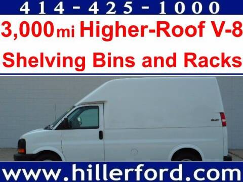 2009 GMC Savana Cargo for sale at HILLER FORD INC in Franklin WI