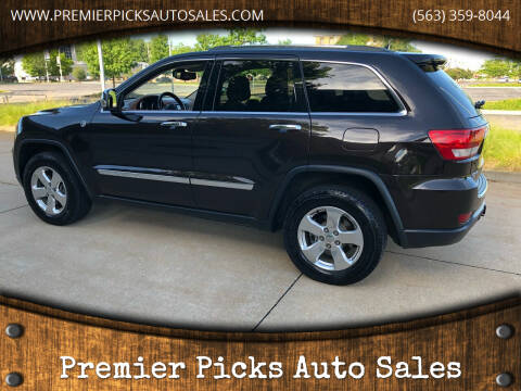 2012 Jeep Grand Cherokee for sale at Premier Picks Auto Sales in Bettendorf IA