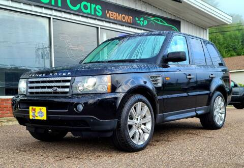 2008 Land Rover Range Rover Sport for sale at Green Cars Vermont in Montpelier VT
