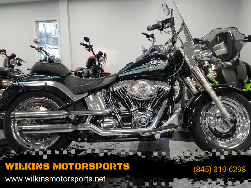 2010 Harley-Davidson Fat Boy for sale at WILKINS MOTORSPORTS in Brewster NY