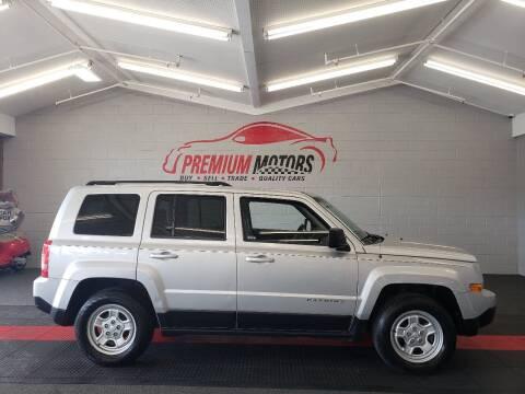2014 Jeep Patriot for sale at Premium Motors in Villa Park IL