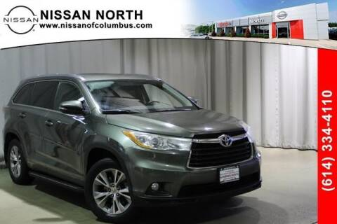 2014 Toyota Highlander for sale at Auto Center of Columbus in Columbus OH