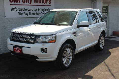 2013 Land Rover LR2 for sale at Oak City Motors in Garner NC