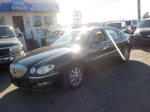 2008 Buick LaCrosse for sale at United Auto Land in Woodbury NJ