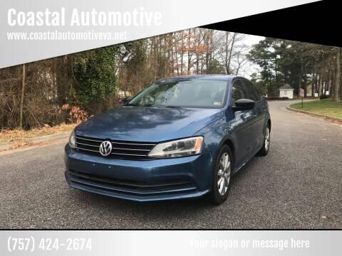 2015 Volkswagen Jetta for sale at Coastal Automotive in Virginia Beach VA