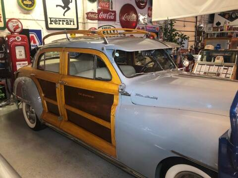 1947 Chrysler Town and Country for sale at Berliner Classic Motorcars Inc in Dania Beach FL