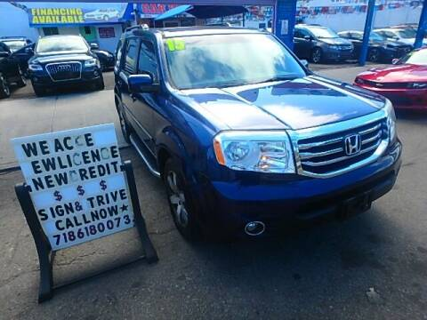2015 Honda Pilot for sale at 4530 Tip Top Car Dealer Inc in Bronx NY