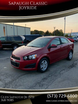 2013 Chevrolet Sonic for sale at Sapaugh Classic Joyride in Salem MO
