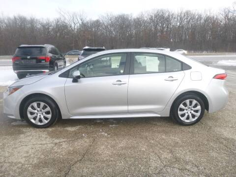 2020 Toyota Corolla for sale at NEW RIDE INC in Evanston IL
