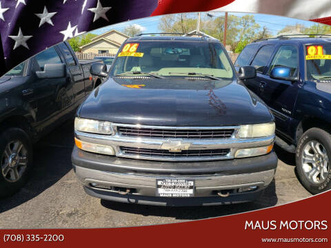 2006 Chevrolet Suburban for sale at MAUS MOTORS in Hazel Crest IL