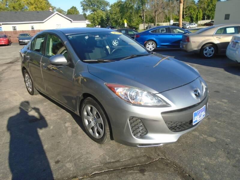2012 Mazda MAZDA3 for sale at DISCOVER AUTO SALES in Racine WI
