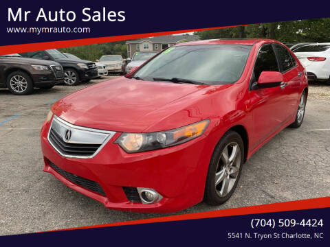 2013 Acura TSX for sale at Mr Auto Sales in Charlotte NC
