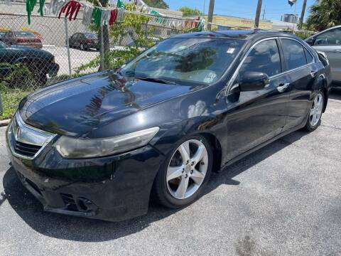2011 Acura TSX for sale at Auto Beast in Fort Lauderdale FL