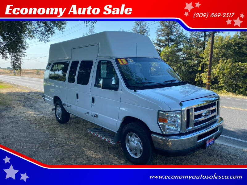 2013 Ford E-Series Cargo for sale at Economy Auto Sale in Modesto CA