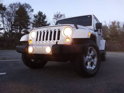 2013 Jeep Wrangler Unlimited for sale at Westford Auto Sales in Westford MA