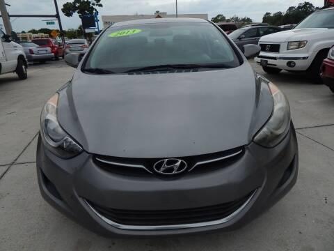 2013 Hyundai Elantra for sale at Auto Outlet of Sarasota in Sarasota FL