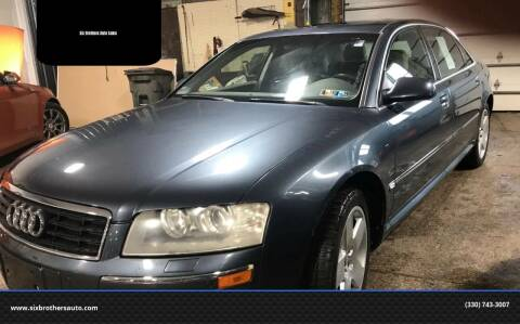 2004 Audi A8 L for sale at Six Brothers Auto Sales in Youngstown OH