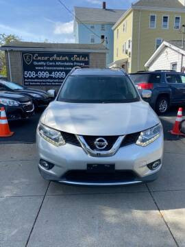 2015 Nissan Rogue for sale at Enzo Auto Sales in New Bedford MA