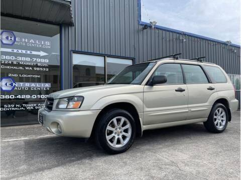 2005 Subaru Forester for sale at Chehalis Auto Center in Chehalis WA