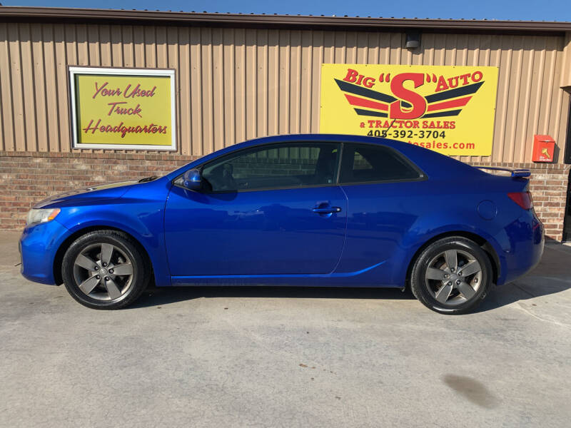 2012 Kia Forte Koup for sale at BIG 'S' AUTO & TRACTOR SALES in Blanchard OK