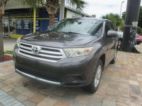 2013 Toyota Highlander for sale at Affordable Auto Motors in Jacksonville FL