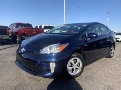 2015 Toyota Prius for sale at Superior Auto Mall of Chenoa in Chenoa IL