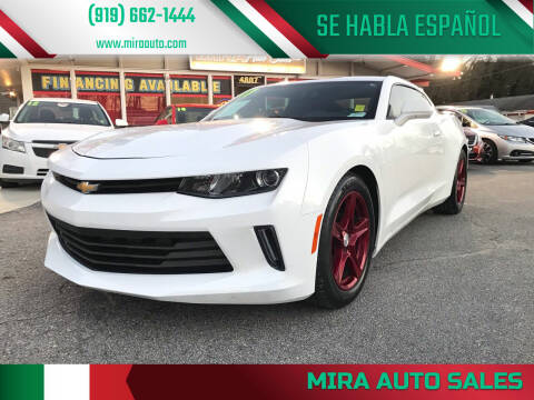 2017 Chevrolet Camaro for sale at Mira Auto Sales in Raleigh NC