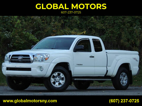 2009 Toyota Tacoma for sale at GLOBAL MOTORS in Binghamton NY